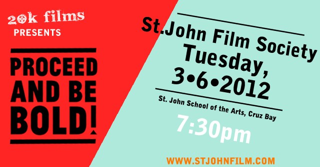 On Tour Proceed And Be Bold In St John Usvi On Screen In Person