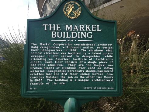 Markel Building Marker
