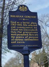 5Moravian Cemetery
