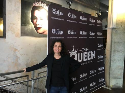 Laurel at the Queen