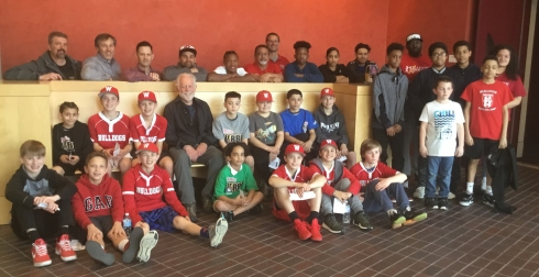 Screening #3_ Filmmaker Eugene Corr with Reading players and coaches