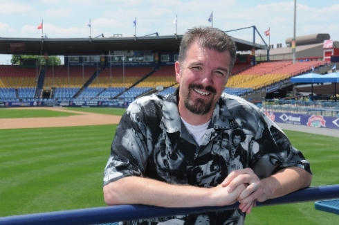 Scott Hunsicker, general manager of Reading Phillies (photo by Ryan McFadden via the Reading Eagle)